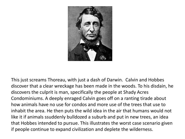 This just screams Thoreau, with just a dash of Darwin.