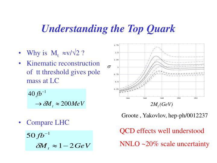 Understanding the Top Quark