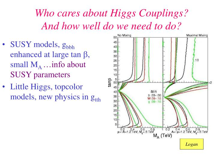 Who cares about Higgs Couplings?