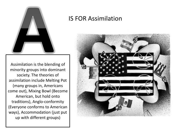 Assimilation back stage front stage causation and correlation deviance ethnocentrism folkways