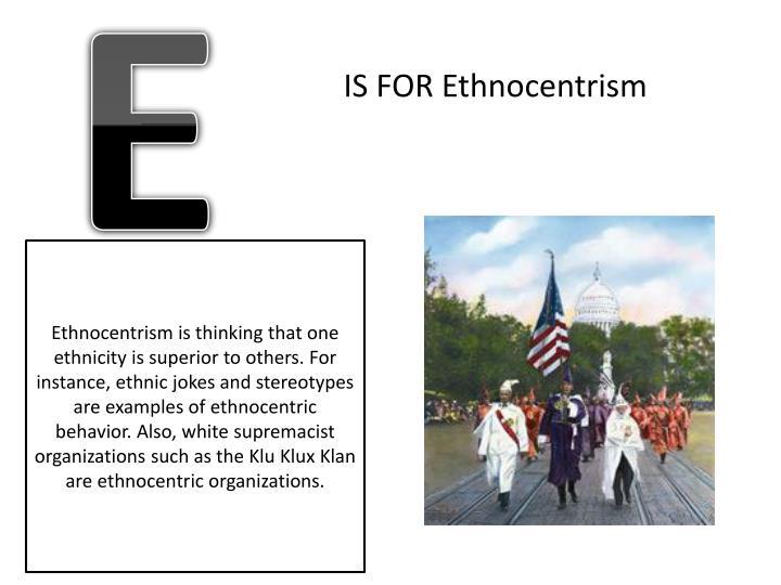 ethnocentrism and stereotypes