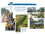 eu cities adapt expectations benefits achievements