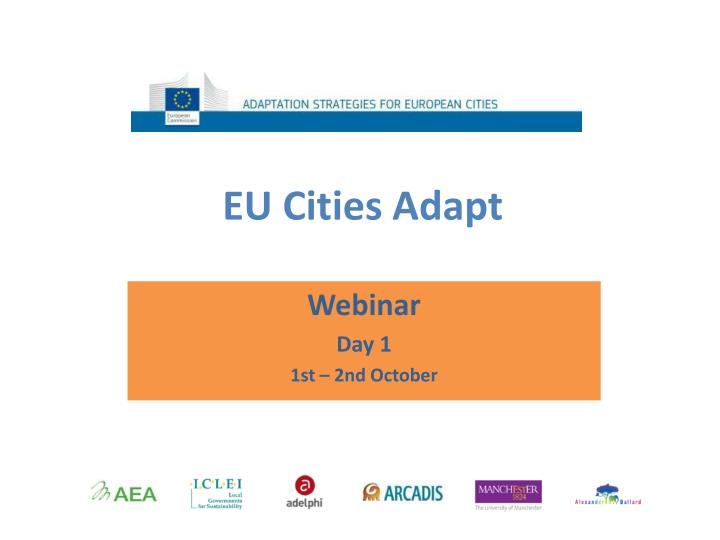 eu cities adapt n.