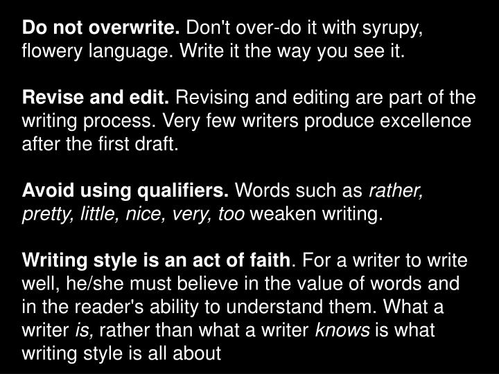 Do not overwrite.
