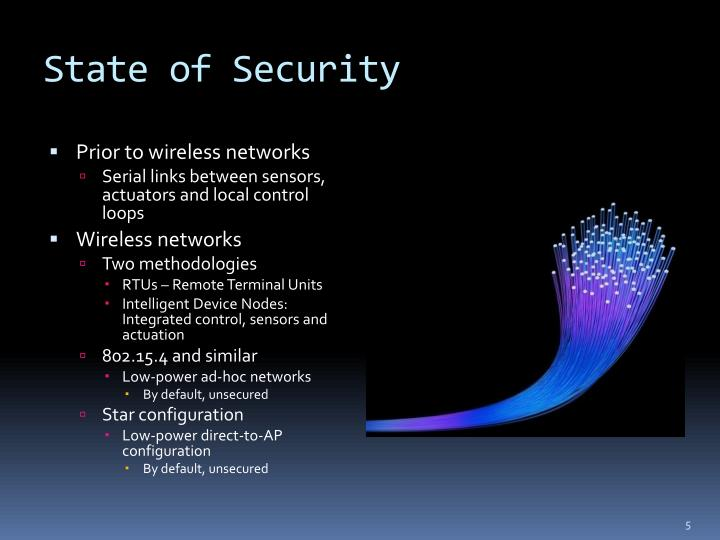 State of Security