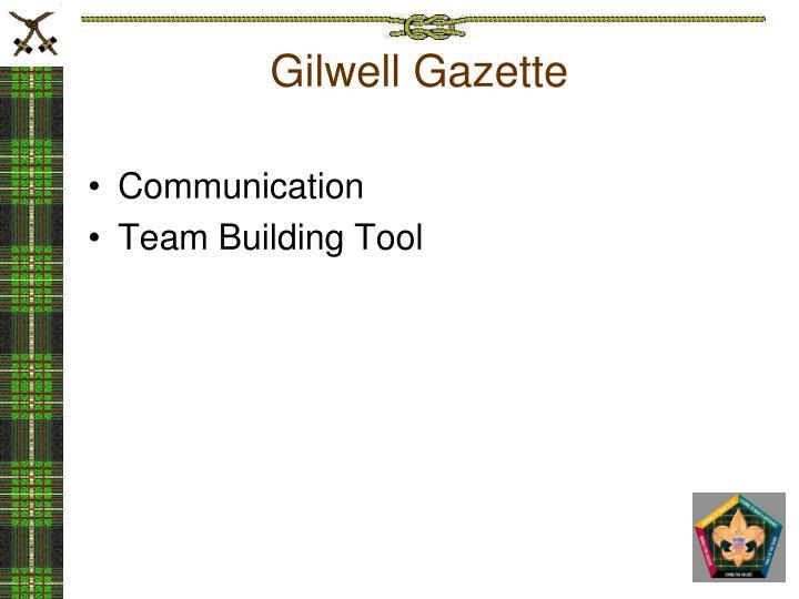 Gilwell Gazette