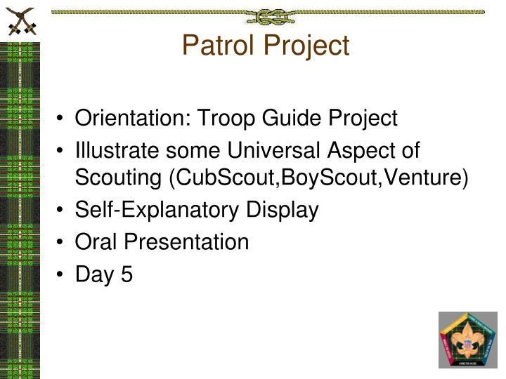 Patrol Project