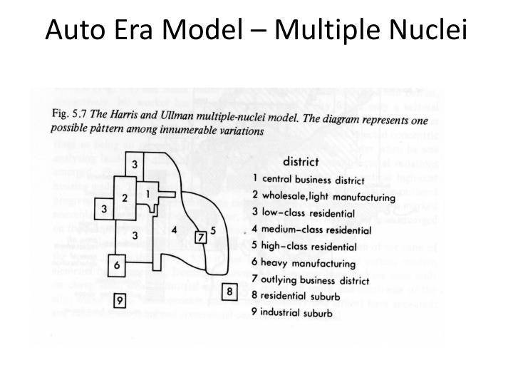 Auto Era Model – Multiple Nuclei