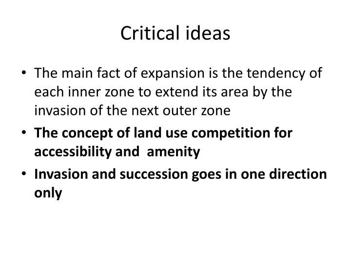 Critical ideas