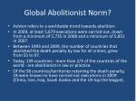 global abolitionist norm