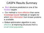 casp4 results summary
