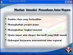 manfaat interaksi perusahaan antar negara