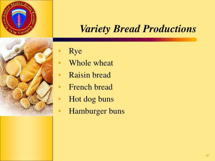 Variety Bread Productions