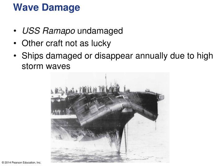 Wave Damage