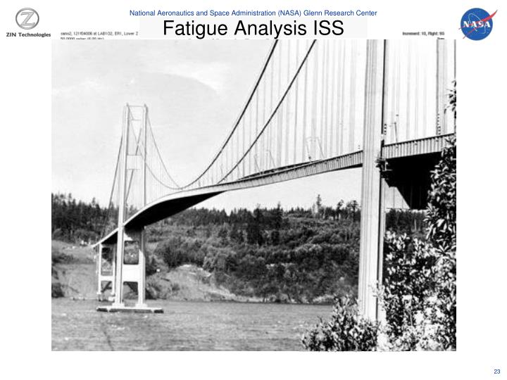 Fatigue Analysis ISS