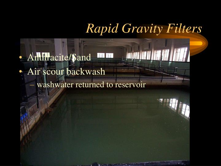 Rapid Gravity Filters
