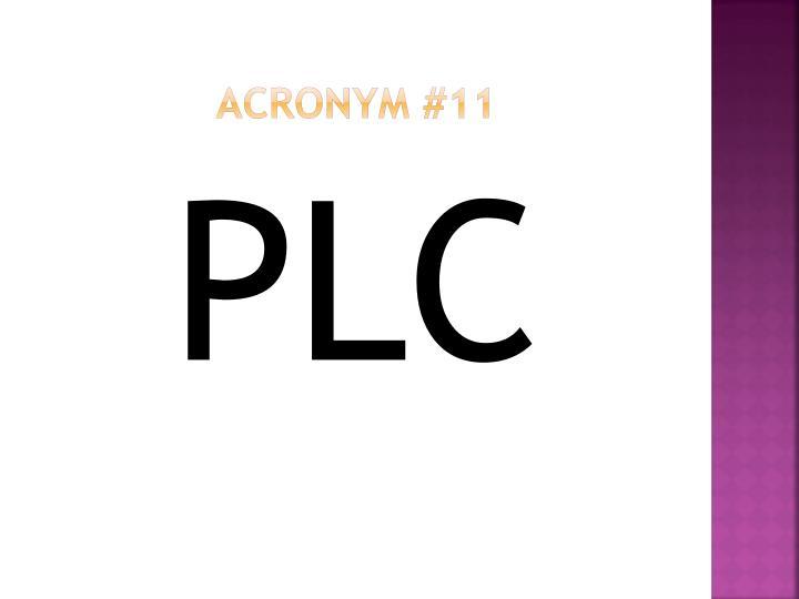 Acronym #11