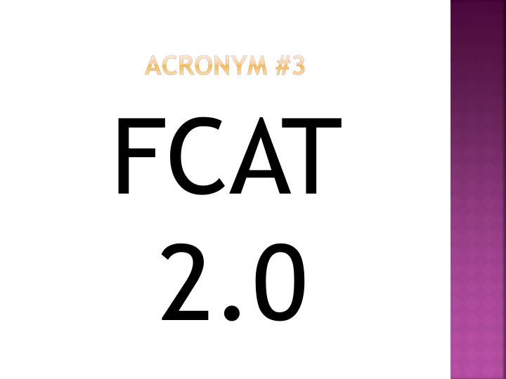 Acronym #3