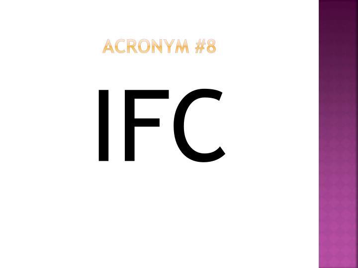 Acronym #8