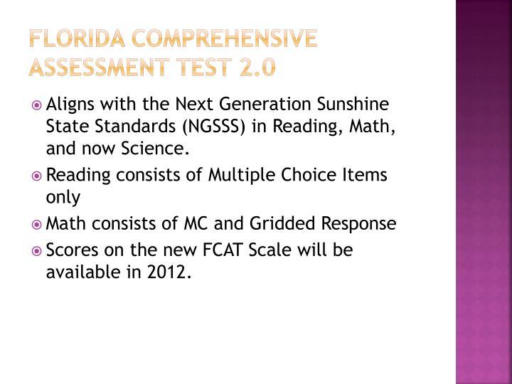 Florida Comprehensive Assessment Test 2.0