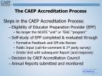the caep accreditation process