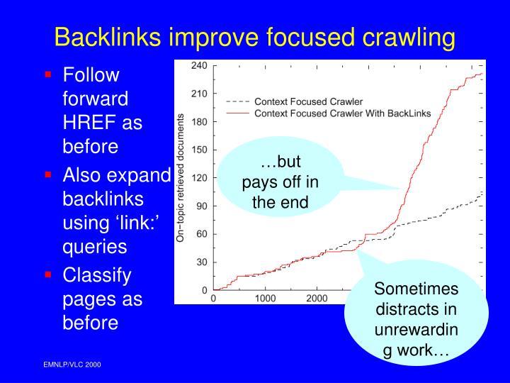 Follow forward HREF as before
