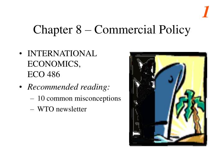 Chapter 8 commercial policy