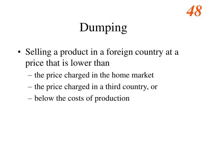 Dumping