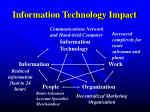information technology impact2