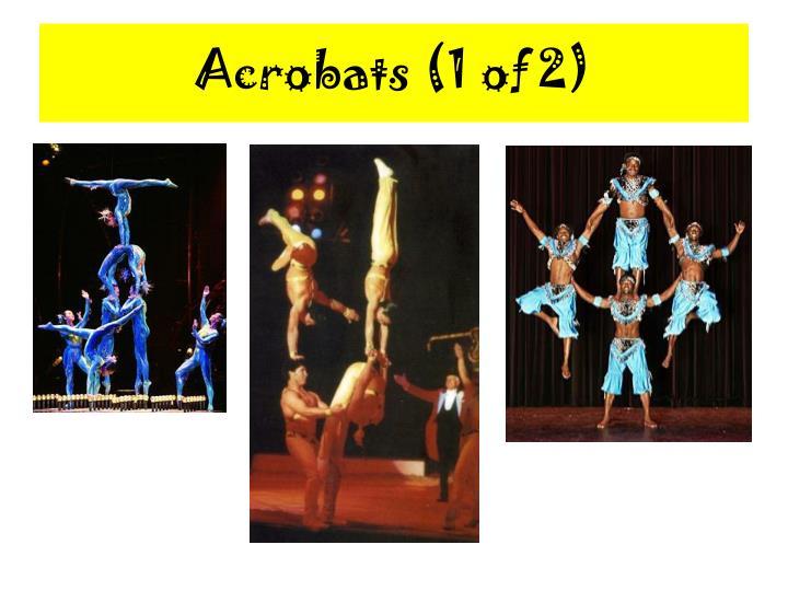 Acrobats 1 of 2