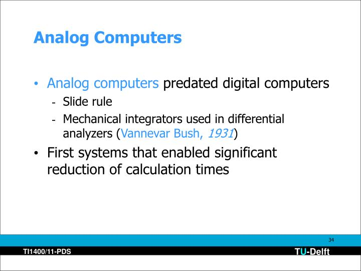 Analog Computers