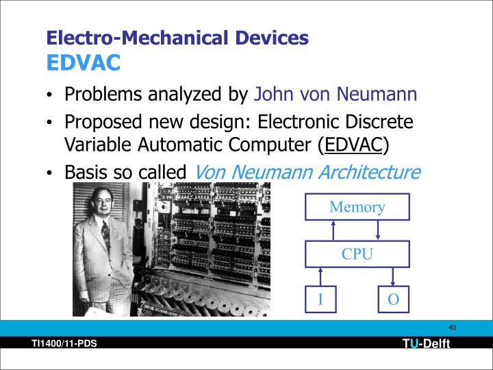 Electro-Mechanical Devices