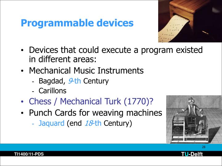 Programmable devices