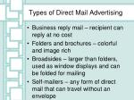 types of direct mail advertising1