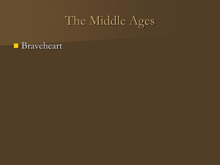 The middle ages2