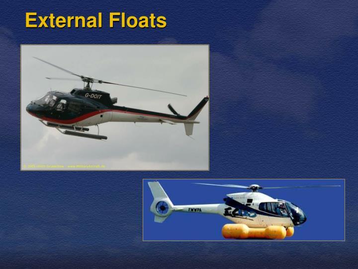 External Floats