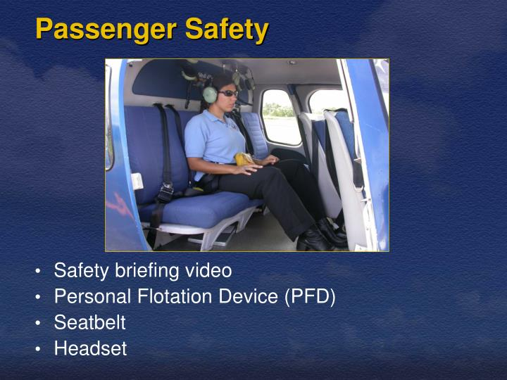 Passenger safety
