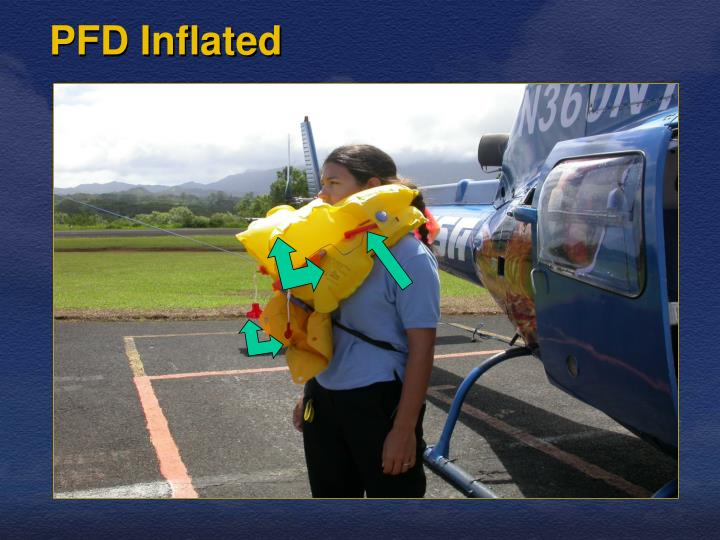 PFD Inflated