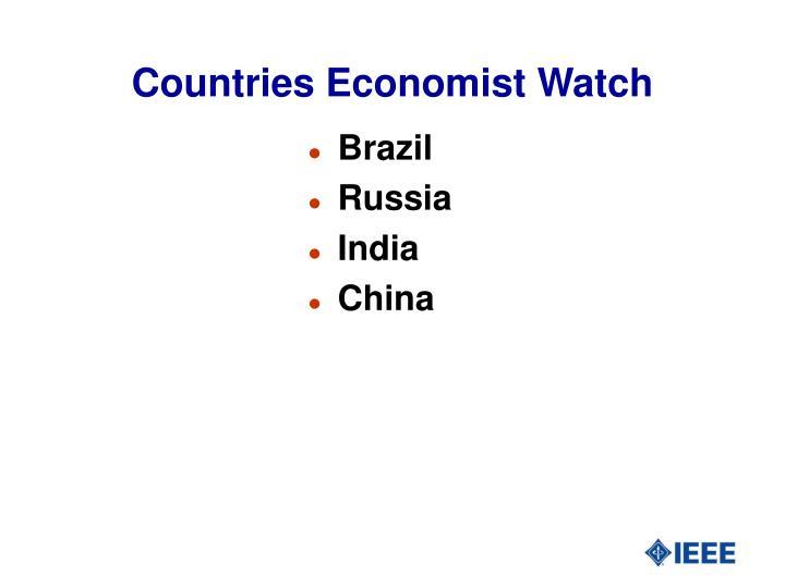 Countries Economist Watch