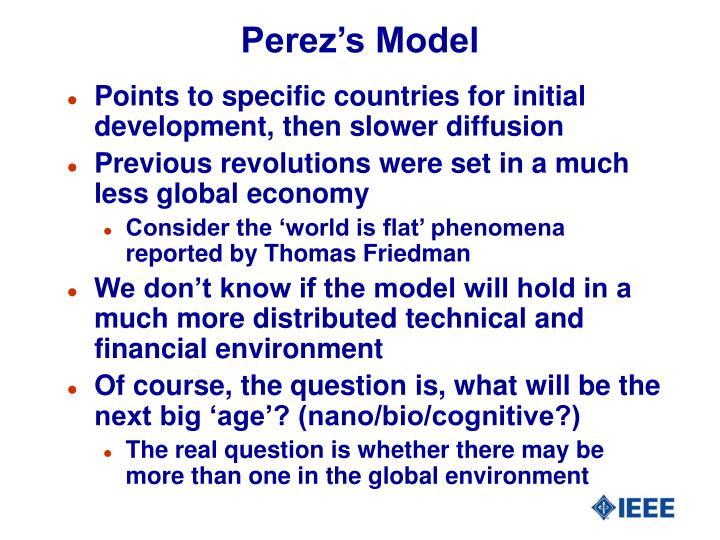 Perez's Model