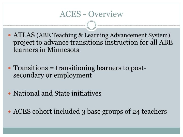 Aces overview