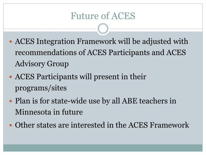 Future of ACES