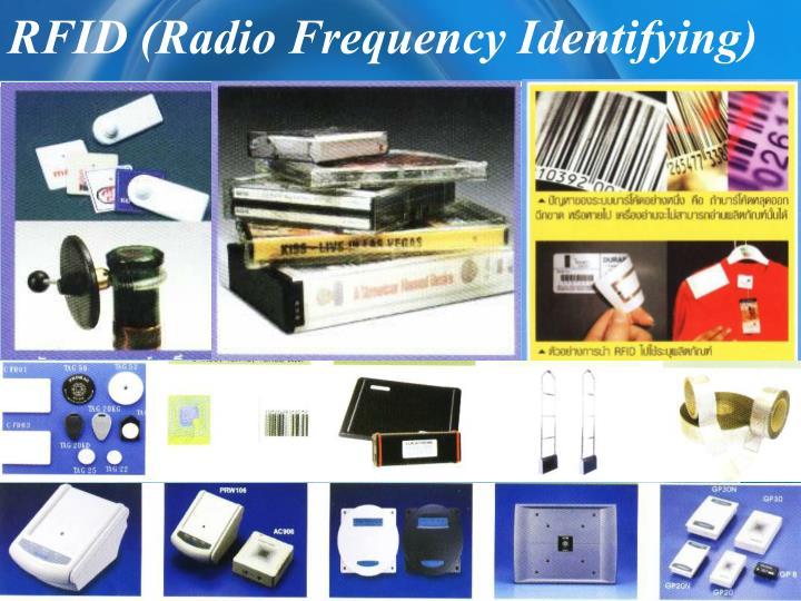 Rfid radio frequency identifying