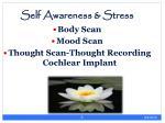 self awareness stress