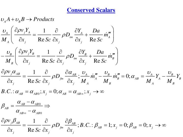 Conserved Scalars