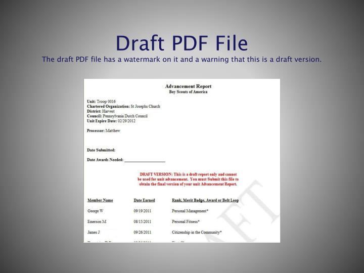 Draft PDF File