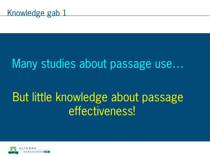 Knowledge gab 1