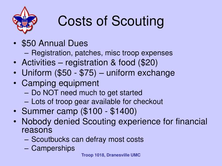 Costs of Scouting