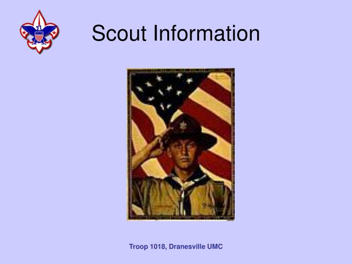 Scout Information