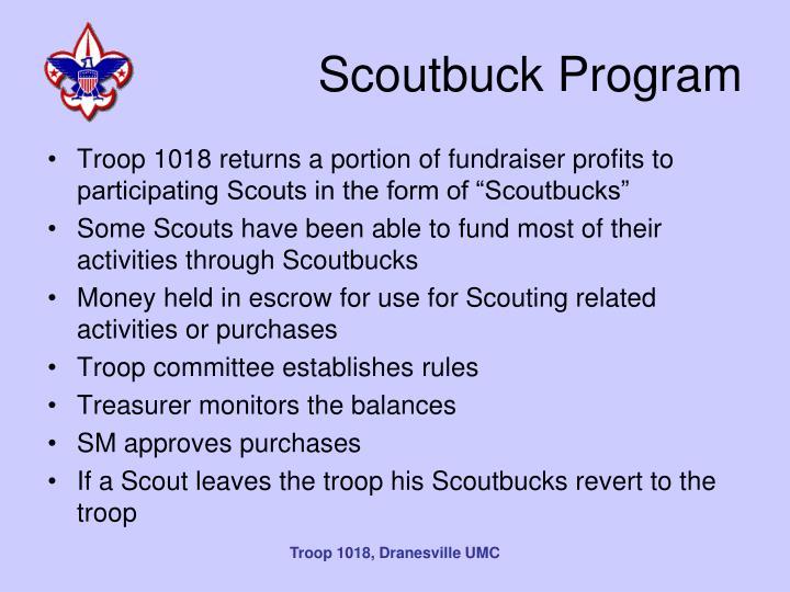 Scoutbuck Program